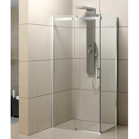 Duschkabine 120x90 cm Duschabtrennung Dusche Schiebetür NANO Glas 8mm Duschwand